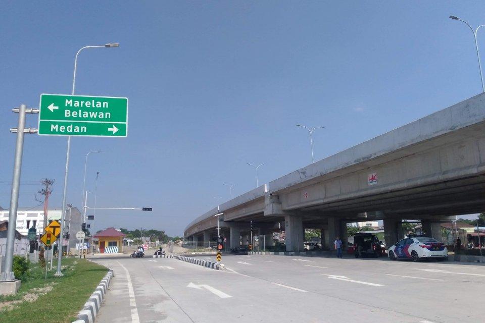 Tol Medan-Binjai akses Marelan-Tanjung Mulia yang dibangun oleh PT Hutama Karya (Persero) akan diresmikan Presiden Joko Widodo dalam waktu dekat. Tol ini merupakan bagian dari Trans Sumatera yang akan menghubungkan Aceh hingga Lampung sepanjang 2.765 km y