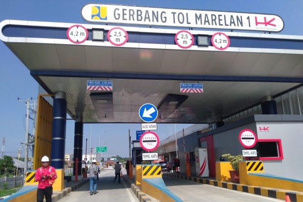 Gerbang Tol Marelan 1 Trans Sumatera