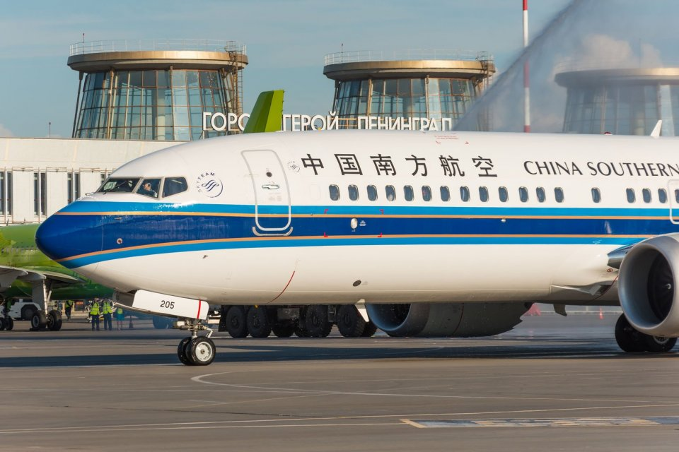 Boeing 737 MAX 8 China Southern