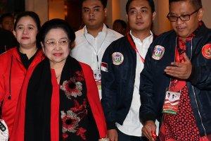 Megawati di Hotel Borobudur