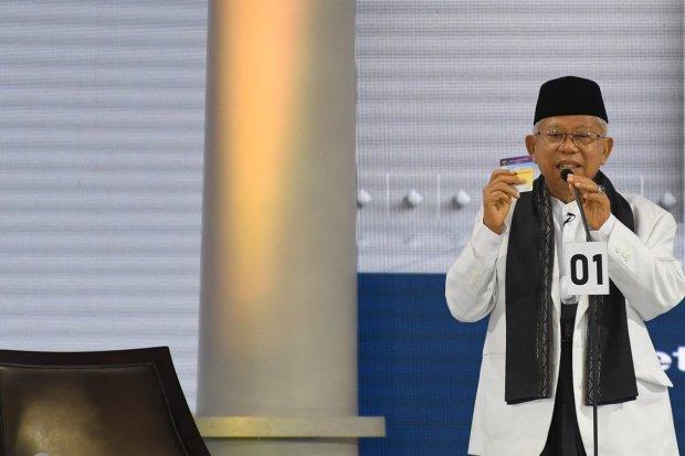 Ma'ruf yakin bisa menang minimal 60% di Jakarta dan sekitarnya berkat dukungan dari Himpunan Majelis Taklim se-Jabodetabek.