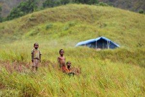 Pengungsi korban banjir Sentani, Papua