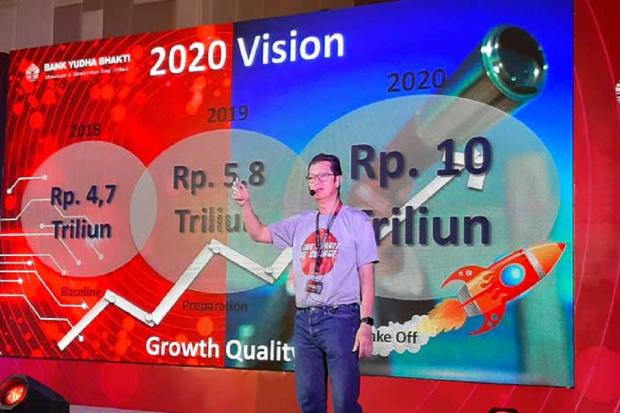 Direktur Utama Bank Yudha Bhakti Denny Novisar Mahmuradi