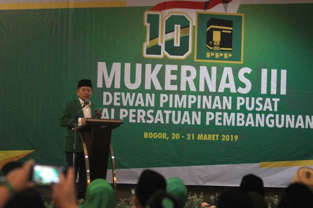 Pilpres 2019, Pemilu, PPP, Prabowo, Sandiaga, hasil Pileg 2019, Suharso Monoarfa, Jokowi