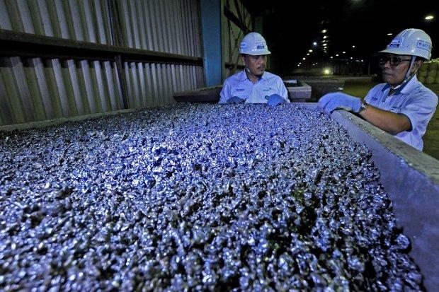 Ekspor Bijih Nikel, Smelter, Tambang