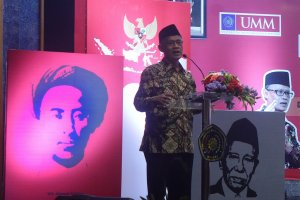 Ketua Umum Pimpinan Pusat Muhammadiyah, Haedar Nashir