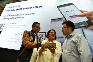 Peluncuran MOST dengan Tanda Tangan Digital