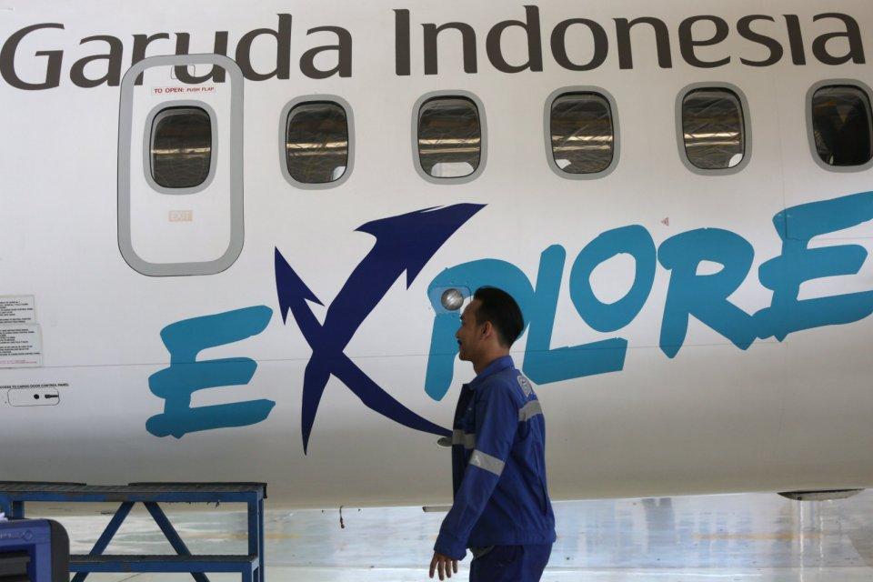 laporan keuangan garuda indonesia janggal, sri mulyani