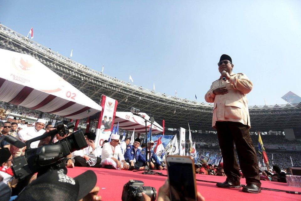 Pilpres 2019, Joko Widodo, Prabowo Subianto