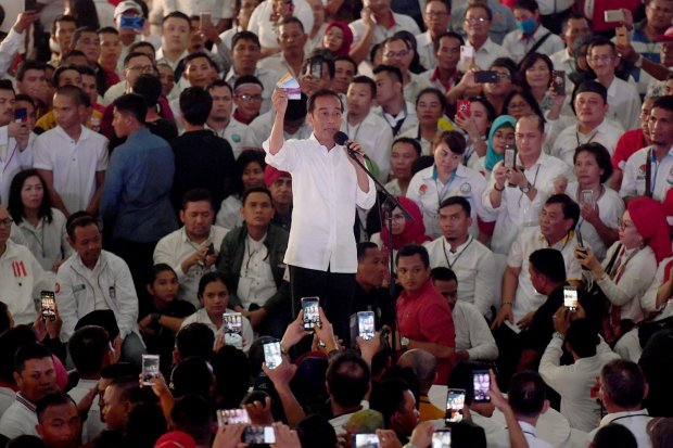 Pemilu, Pilpres 2019, Jokowi, Prabowo, Ma'ruf, Sandiaga, hasil hitung cepat, quick count, data lembaga survei