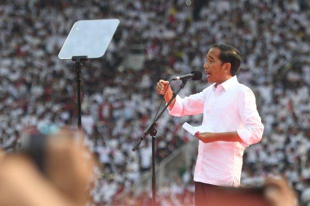 pidato Jokowi konser putih bersatu