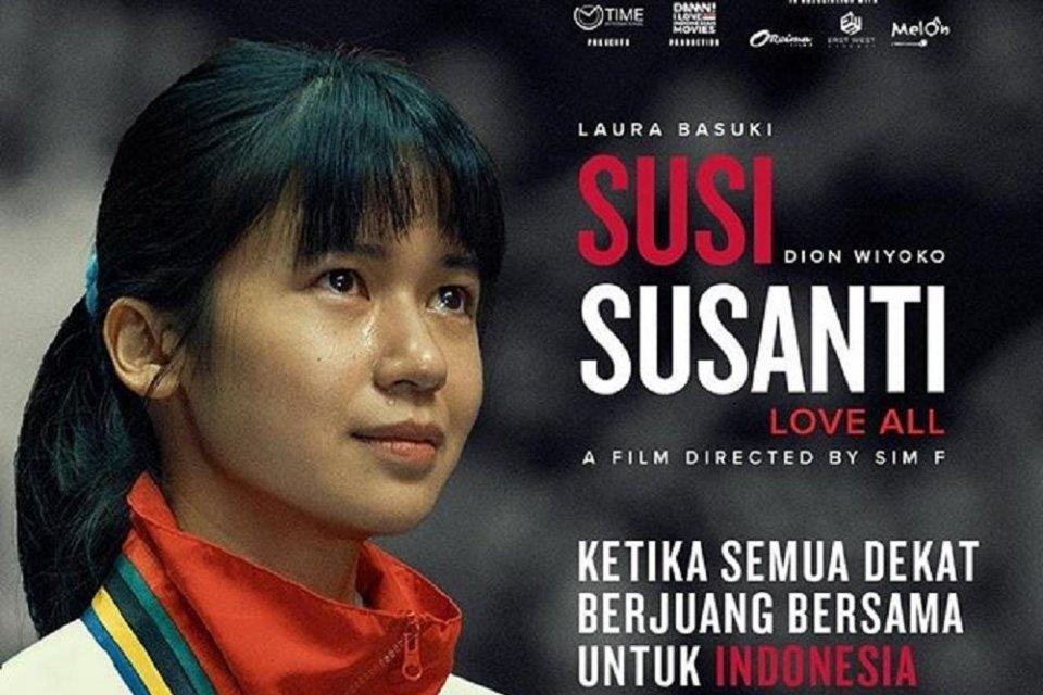 Aktris Laura Basuki menjadi pemeran utama dalam Film Susi Susanti, yang memangunkan memori emas pertamaRI di olimpiade.