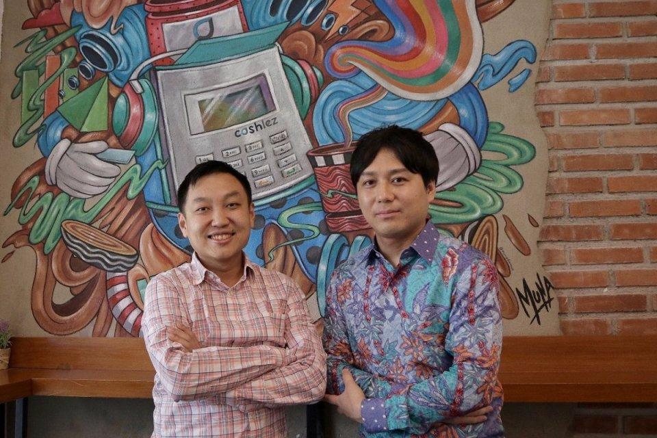 CEO Cashlez Teddy Tee dan Manager Sumitomo Corporation Fujisawa Toshiya