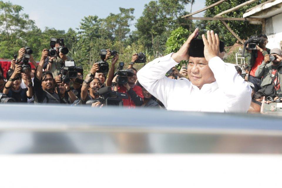 Ketua Umum Gerindra Prabowo Subianto.
