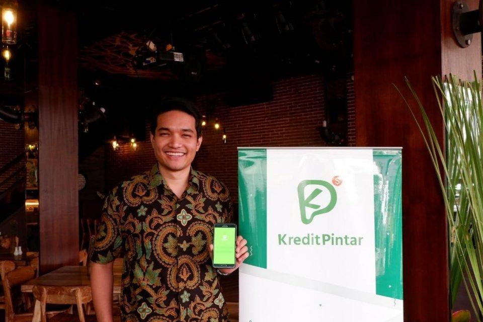Vice President Kredit Pintar Boan Sianipar di Jakarta, Senin (15/4).