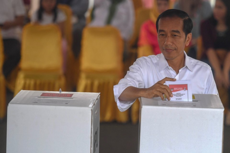 pemilu, pilpres 2019, hasil hitung cepat, quick count, exit poll, jokowi, ma'ruf, tkn
