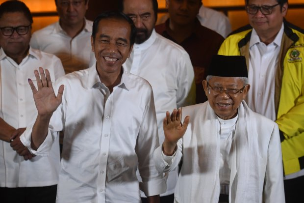 Situng KPU Nyaris 70%, Jokowi menang sementara 13,4 Juta suara
