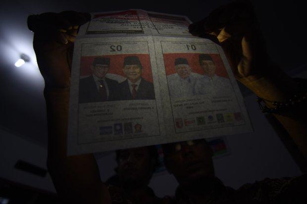 Pilpres 2019, Jokowi, Prabowo, Indikator Politik Indonesia