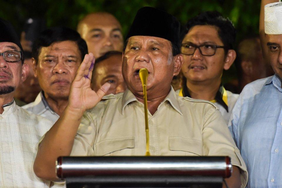 Prabowo, pemindahan ibu kota, Jokowi, tanggapan Prabowo soal ibu kota pindah