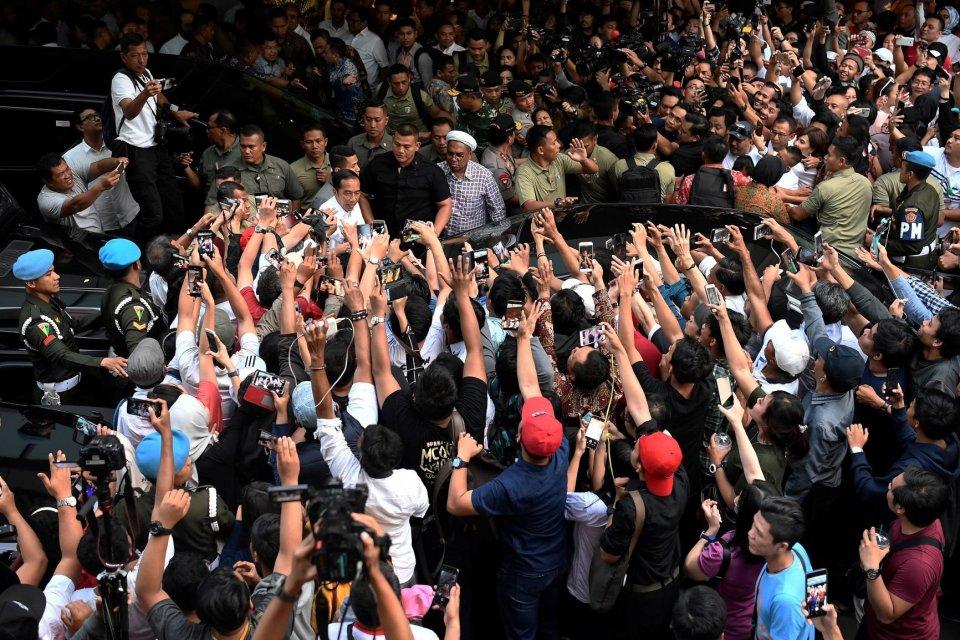 Jokowi kuasai Jateng dan Jatim