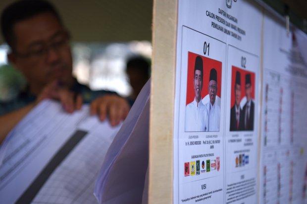 Hasil survei SMRC terkait pemilu 2019