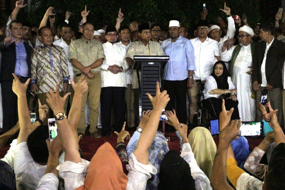 koalisi Prabowo jadi oposisi