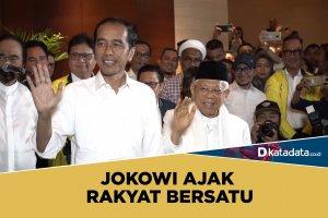 Jokowi ajak rakyat bersatu