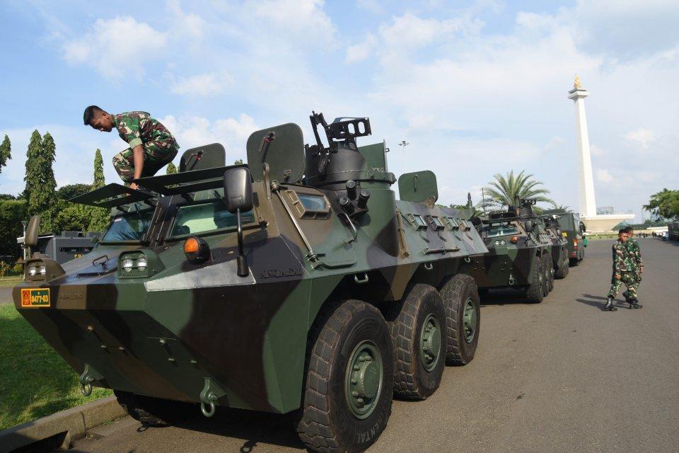 Anggaran Kementerian Pertahanan 2020 dalam RAPBN 2020, melembihi anggaran infrastruktur