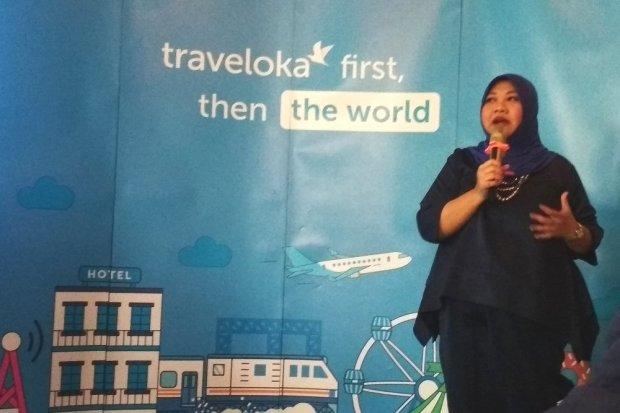 Traveloka, transaksi saat Lebaran 2019, harga tiket pesawat