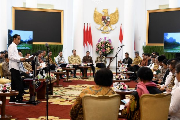 Jokowi larang menteri buat kebijakan, setop ganti pejabat Oktober