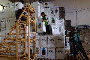 Keamanan Penyimpanan Logistik Pemilu 2019