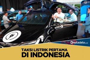 Taksi Listrik Pertama di Indonesia