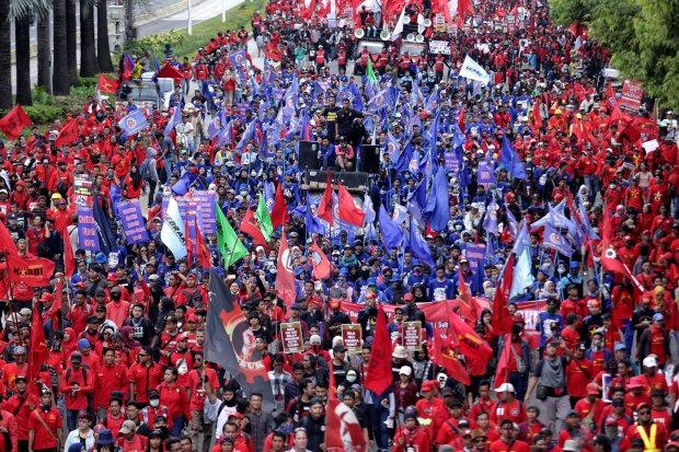 Buruh, Jokowi, UU Ketenagakerjaan.