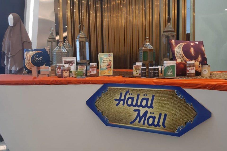 BRI luncurkan Halal Mall di Official Store Tokopedia di BRI Innovation Center, Jakarta, Senin (6/5)