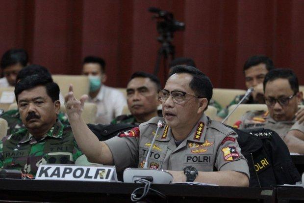 Kapolri, Tito Karnavian, kerusuhan 21-22 Mei 2019, kelompok penunggang kerusuhan