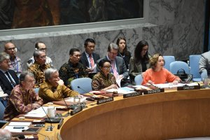 Batik di Sidang Terbuka DK PBB