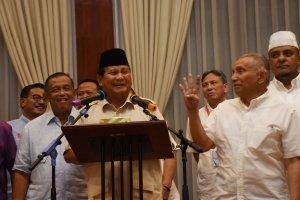 Jumpa Pers Prabowo