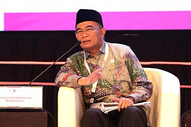 Muhadjir Effendy, Menteri Pendidikan dan Kebudayaan dalam acara Musrenbangnas 2019 di hotel Shangri - La, Jakarta Pusat (9/5).