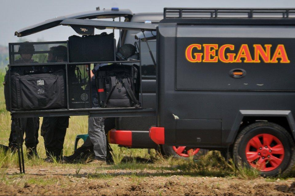 Usai Ledakan, Densus Geledah Rumah Pelaku Bom Bunuh Diri Kartasura