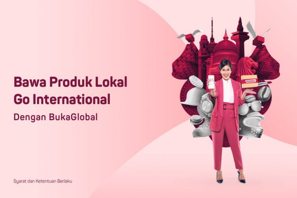 BukaGlobal. Foto: Bukalapak