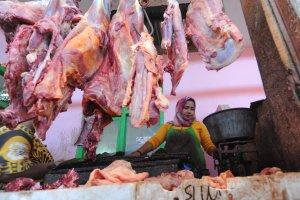 Harga Daging di Pamekasan Stabil