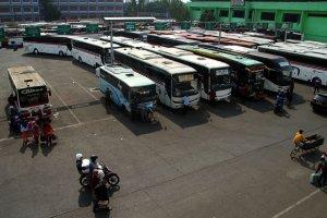 Kesiapan Armada Bus untuk Mudik