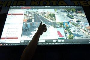Arus Mudik di Pantura Dipantau dari CCTV