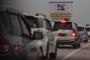 Arus Mudik di Tol Trans Jawa