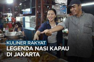 Legenda nasi kapau di Jakarta