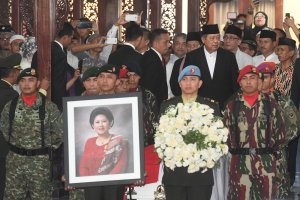 Pelepasan Jenazah Ani Yudhoyono