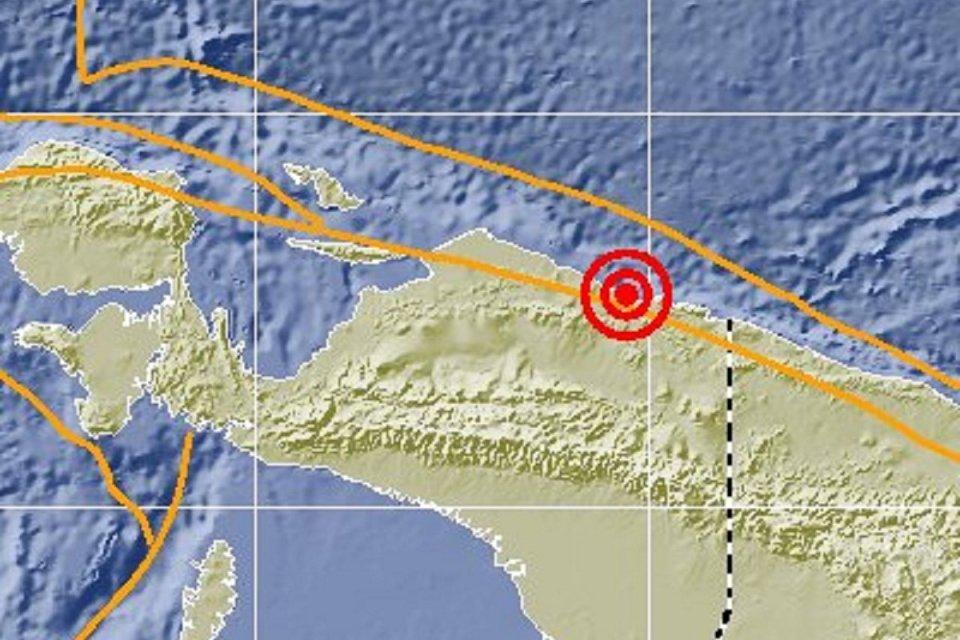 BMKG menyampaikan terjadi gempa di Cilacap, Bali, dan Papua pada MInggu (9/6).