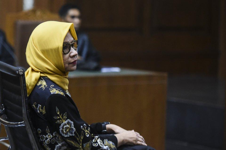 Vonis Karen Pertamina, Mantan Dirut Pertamina Korupsi divonis 8 tahun penjara