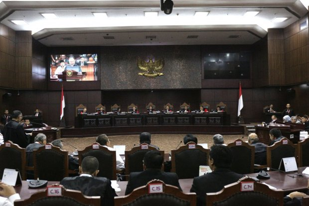 Jejak Sengketa Pilkada di MK: Diskualifikasi Calon hingga Pemilu Ulang -  Nasional Katadata.co.id