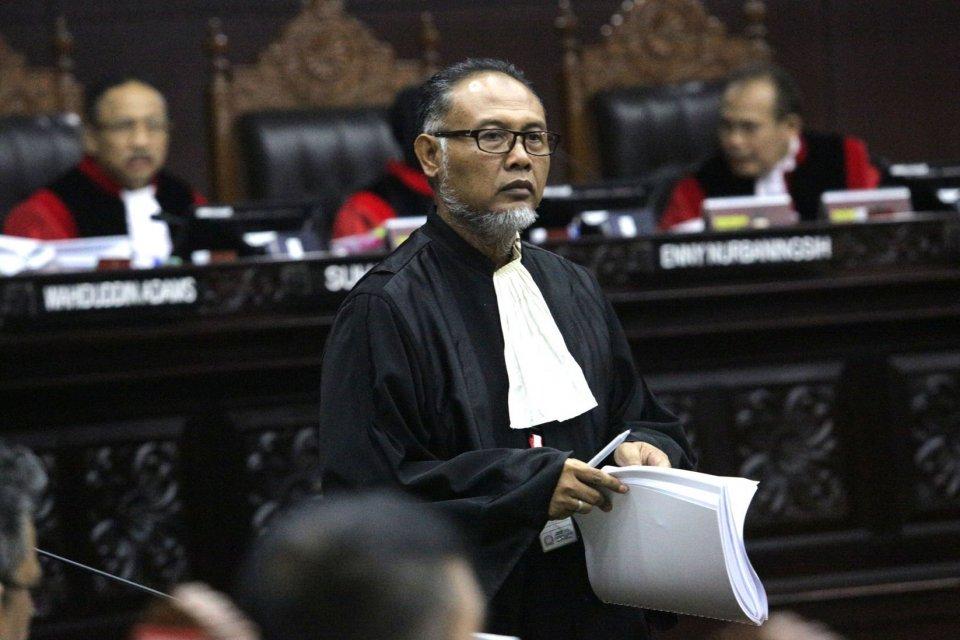 kuasa hukum prabowo, lpsk, Bambang Widjojanto, gugatan pilpres 2019 di mk, pemilu 2019